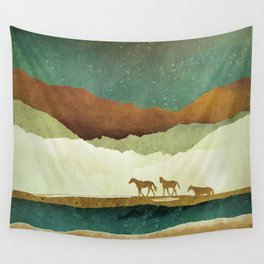 Star Range Wall Tapestry