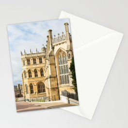 Sunshine on St. George's Chapel at Windsor Castle Stationery Cards