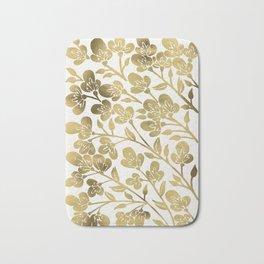 Cherry Blossoms – Gold Palette Bath Mat