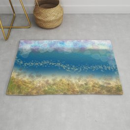 Abstract Seascape 02 wc Rug