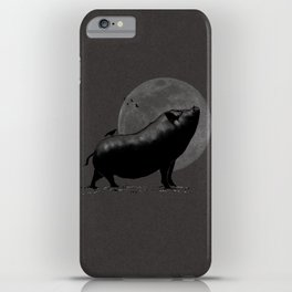 barking pig iPhone Case