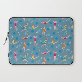 Homage to Esther Williams - Dusty Blue Laptop Sleeve
