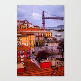 Portugalete village Canvas Print