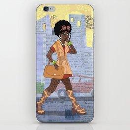 Metro Afro iPhone Skin