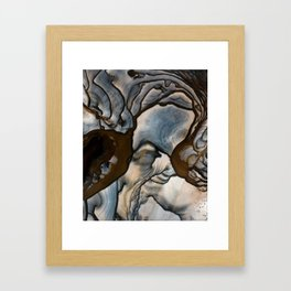 Earth treasures - jaspis patterns Framed Art Print