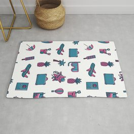 summer objects Rug