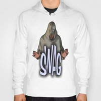 swag Hoodies featuring SWAG  by Robleedesigns