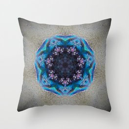 Shell of Magic Throw Pillow