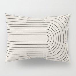 Arch Art, Modern Pattern, Mid Century  Pillow Sham