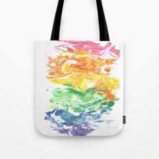 Rainbow Splat Tote Bag