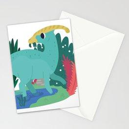 Parasaurolophus Stationery Cards