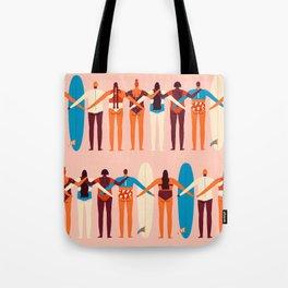 Surf sisters Tote Bag