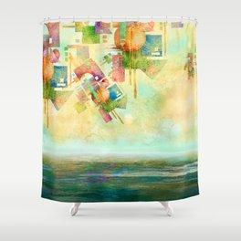 First, Dream Shower Curtain