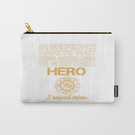 THE FIREFIGHTER'S MOM Carry-All Pouch