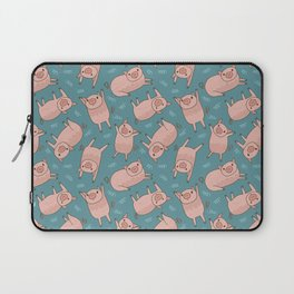 Pattern Project #52 / Piglets Laptop Sleeve