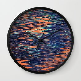 The Oil spill.... Wall Clock