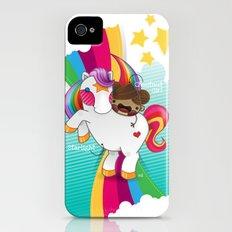 Chestnut Girl And Starlight Slim Case iPhone (4, 4s)