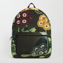 Group of Auriculas :  Temple of Flora Backpack