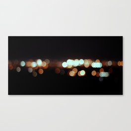 IMOLA BY NIGHT IF YOU WERE MYOPIC LIKE ME. Canvas Print