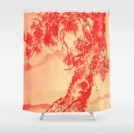 Pine Tree Shower Curtain