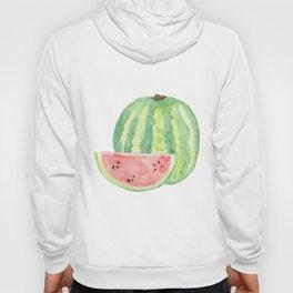 Watermelon Watercolour  Hoody