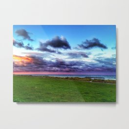 Last colours of the day Metal Print
