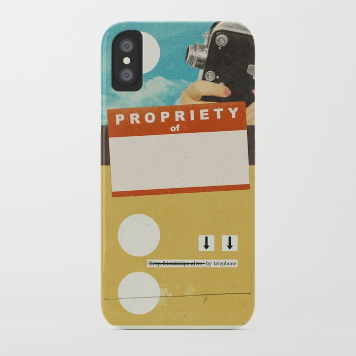 YOUR NAME HERE | Collage iPhone Case