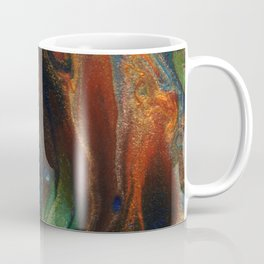 Earth Fire Lava Flow Cells Coffee Mug