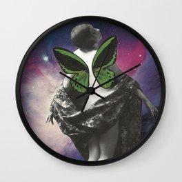 Galactic Flutter Wall Clock