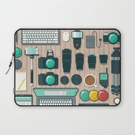 Photographer's Workspace Laptop Sleeve