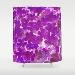 Clover V Shower Curtain