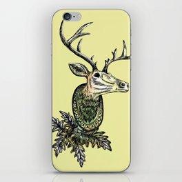 Deer Head iPhone Skin