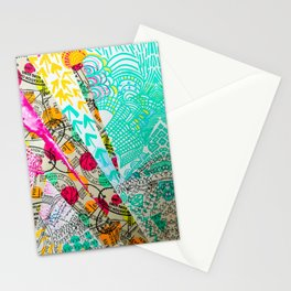 Geometric Abstract Travel Stationery Cards