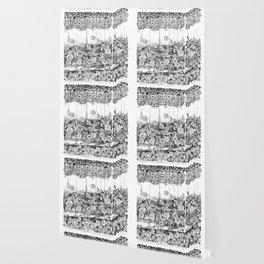Anatomy Series: Skin Flowers Wallpaper