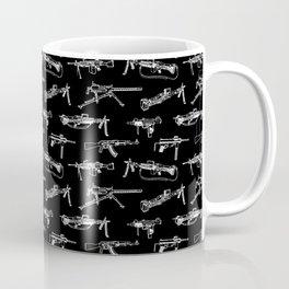 Machine Guns // Black Coffee Mug