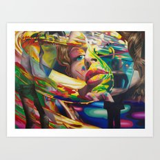 Love is a Symphony Art Print