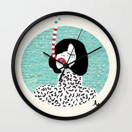 A breath Wall Clock