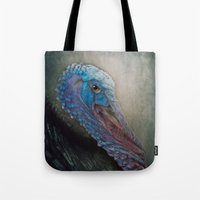 turkey Tote Bags featuring Turkey by Pauline Fowler ( Polly470 )