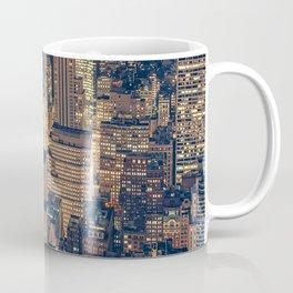 New York, NYC, Print Coffee Mug