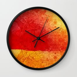 Sunset comes Wall Clock