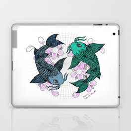 Koi fish Pisces Laptop & iPad Skin