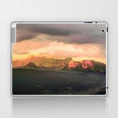 Escaping  -  Mountains - Dachstein, Austria Laptop & iPad Skin