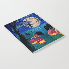 Spooky night Notebook