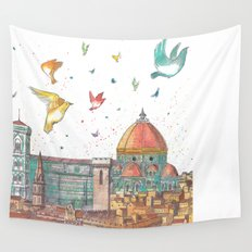 Colors of Florence Wall Tapestry