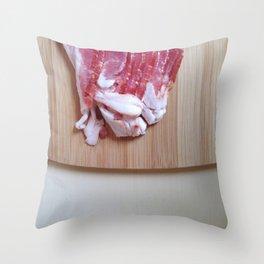 Bacon Love (2) Throw Pillow