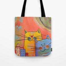 City cats Tote Bag