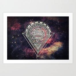 Space Zen Art Print