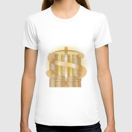 Piles of Coins T-shirt
