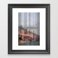 Coventry Road - Sad Heart by Anna Chocola Framed Art Print