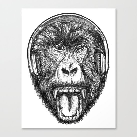 Scream And Shout Canvas Print